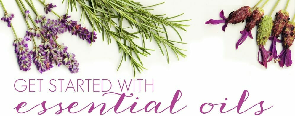 get start with essential oils